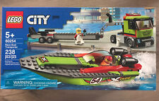 Lego City 60254 Race Boat Transporter ~ NEW Sealed ~