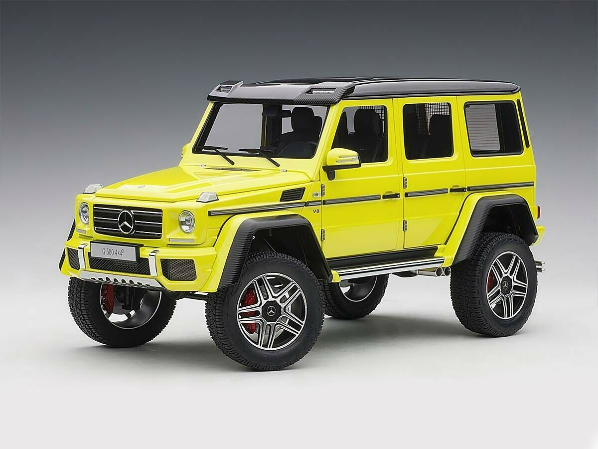 bilkonst Mercedes -Benz G500 4x42 Gul 2016 1  18