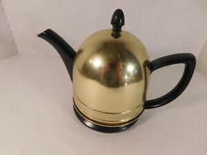 Art-Deco-Black-Stoneware-Tea-Pot-with-Metal-Wool-Insulated-Lining-Tea-Cozy