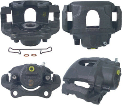 Disc Brake Caliper-Unloaded Caliper with Bracket Front Right Cardone Reman