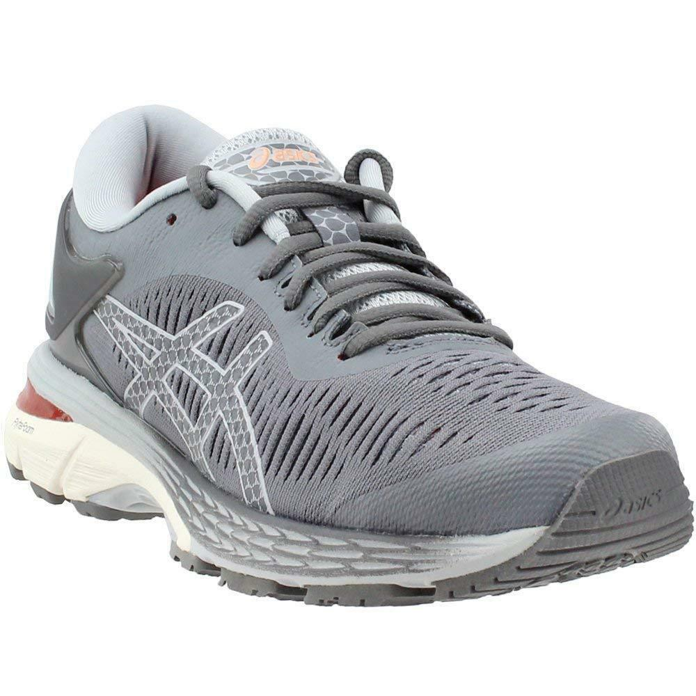 ASICS Gel-Kayano 25 Women's Running shoes, Carbon Mid Grey, 7 D US