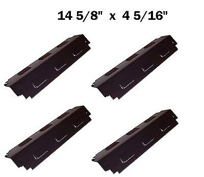 BBQ Gas Grill 4 Heat Plates Porcelain Steel for Charbroil Kenmore Sears 98741
