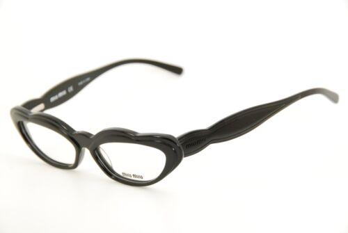 Authentic MIU MIU Vmu06e 1ab-1o1 Black 51mm Frames Eyeglasses RX | eBay
