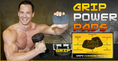 Lifting Grips GRIP POWER PADS Gym Alternative to Gym Workout Gloves  Sweaty Hand