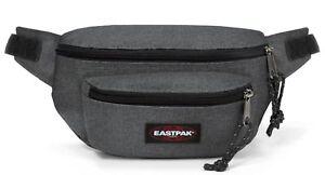 Eastpak-Doggy-Bag-Sac-de-ceinture-Sac-Black-Denim-Noir-Gris-Nouveau