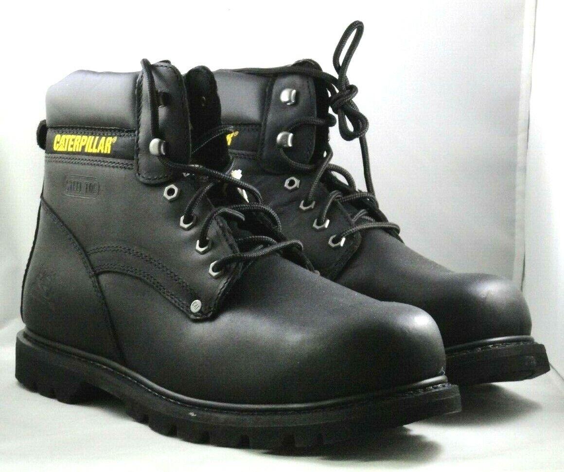 NEW Mens Boots Caterpillar Cat Black