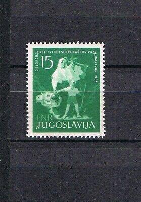 Zielsetzung Jugoslawien 1953 Marke 733 Befreiung Istriens/slowenischen Kuste Postfrisch Briefmarken