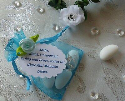 Einladung zur Taufe mit rosa / blaue Schuhe Gastgeschenk Tischkarten Handarbeit