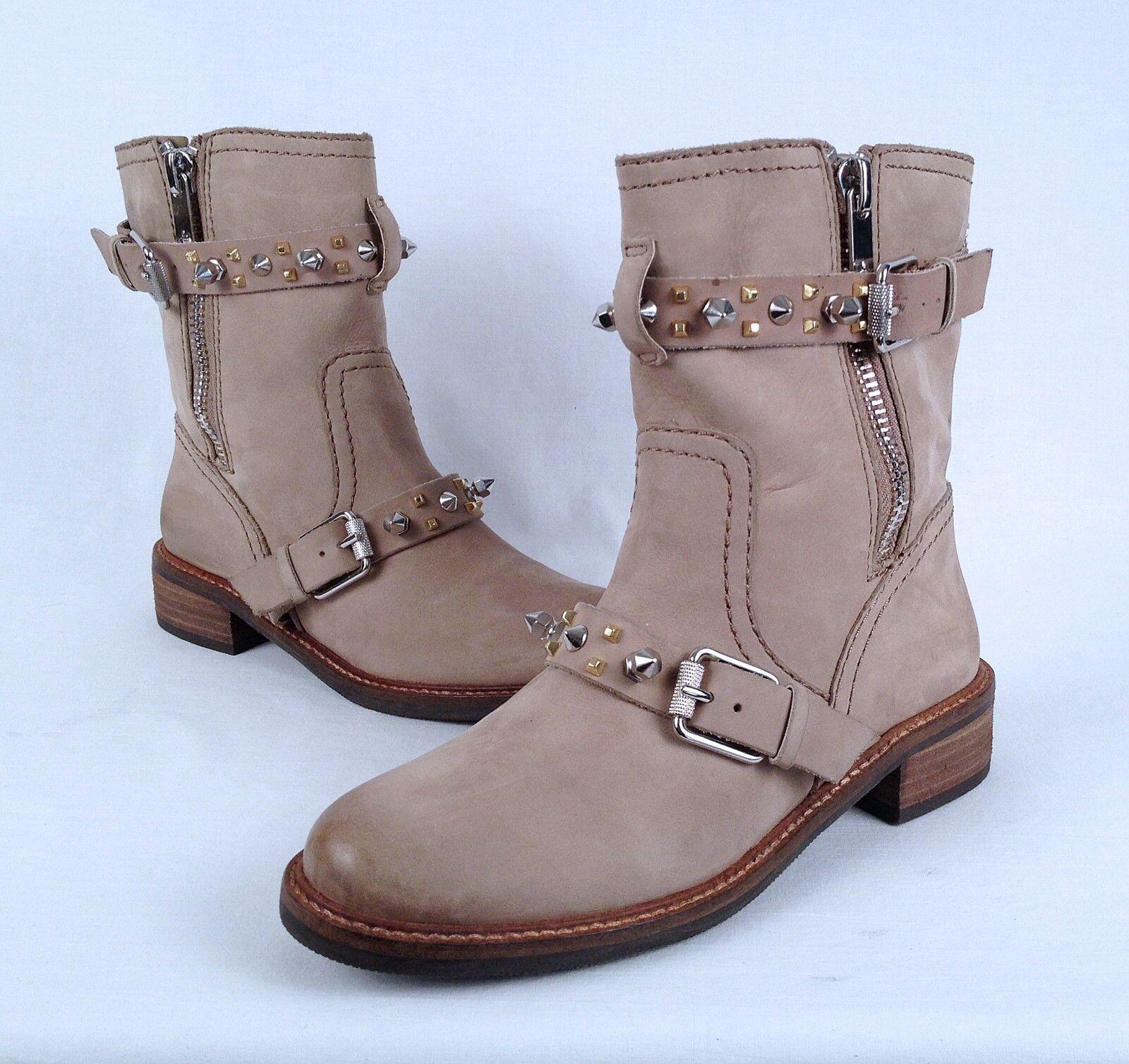 Sam Edelman 'Adele' Moto Boot- Sand- Größe 7 M  (B58)