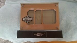 HARLEY-DAVIDSON-LED-110TH-Anniversary-PICTURE-FRAME-EXCELLENT-CONDITION