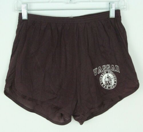VTG Nylon Running Shorts Champion Vassar College S