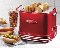 Pop-up Hotdog Toaster, Kitchen Appliances Adjustable Snacks Red Snacks on Sale