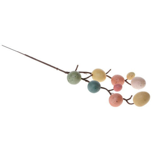 Decoration Easter Decoration DIY Painting Egg Tree Branches Hanging Ornaments^