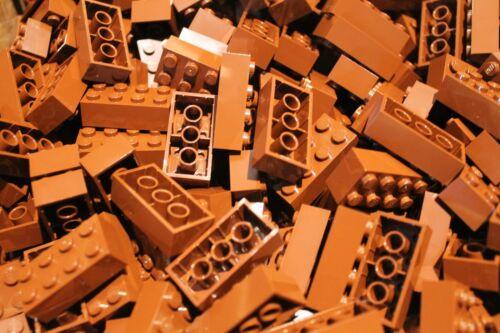 3001 Steine 2x4 50 x LEGO® Brick in Neu Braun reddish brown NEU
