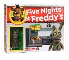 Five Nights at Freddy's SECURITY OFFICE Small Construction Set McFarlane FNAF