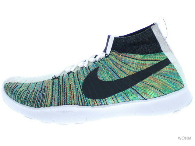 NIKE FREE TR FORCE FLYKNIT PREMIUM 844461-910 multi-color/white Size 10.5