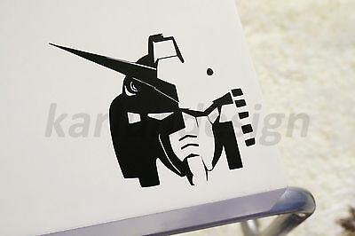 GUNDAM RX-78 Head Vinyl Decal Sticker robot manga anime wall window car decal