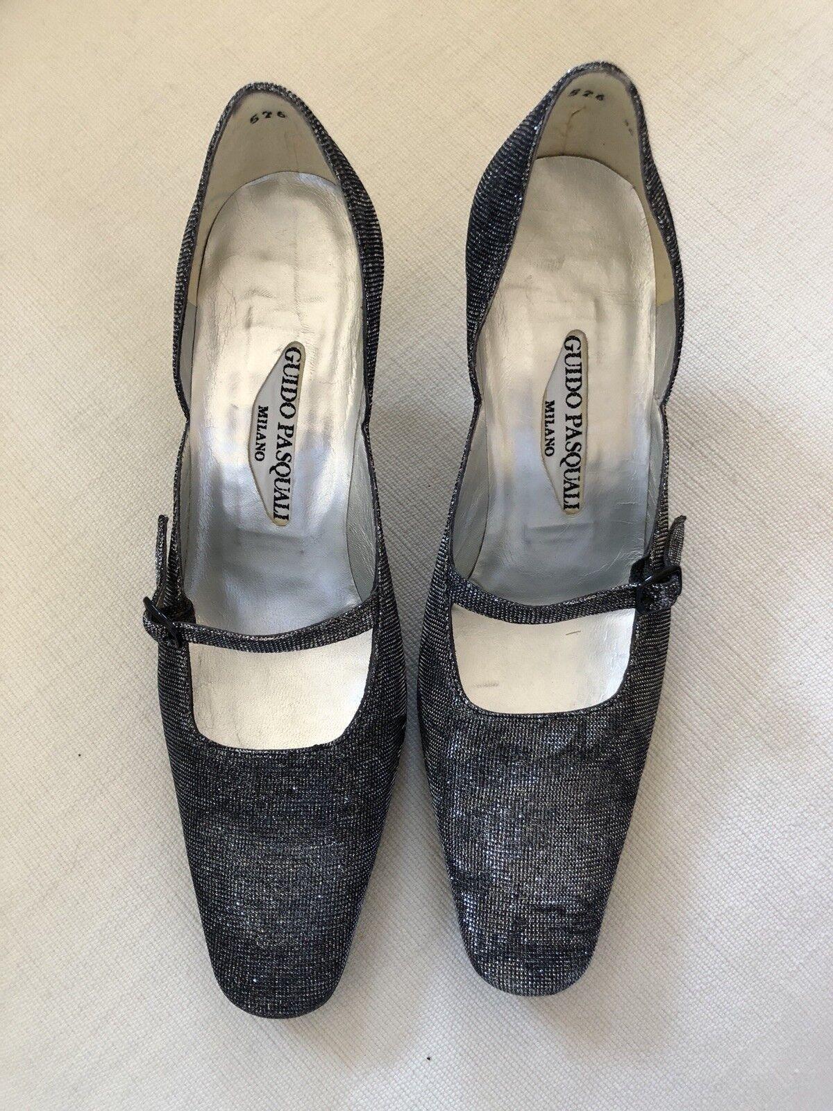 Nuevo zapatos de plata Pasquali por Guido Pasquali plata 49ed51