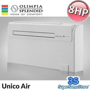 3s neue olimpia unico air 8 hp 1 8 kw klimaanlage w rmepumpe ohne ausseneinheit ebay. Black Bedroom Furniture Sets. Home Design Ideas