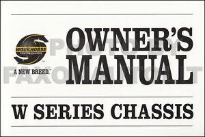 2006 workhorse chassis owners manual coachmen epic itasca suncruiser rh ebay com coachmen chaparral owners manual coachmen owners manuals 2004 5th wheel
