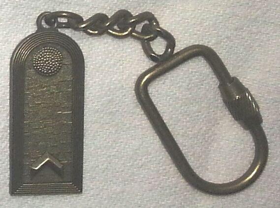 Schlüsselanhänger Kette Dienstgrad FELDWEBEL (Fw Bundeswehr)