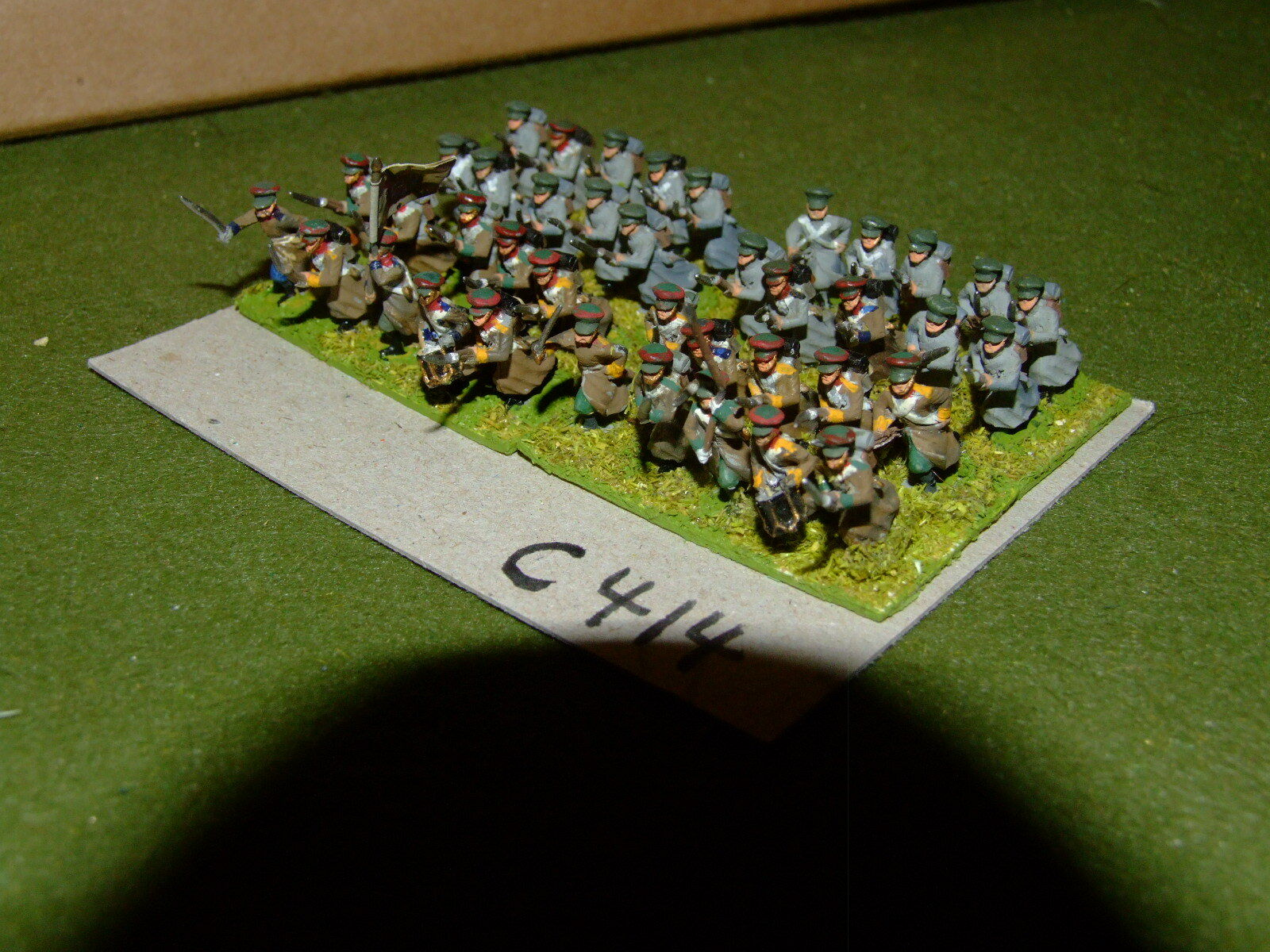 15mm 19th century   crimean - Russian 40 Infantry - inf (CL414)