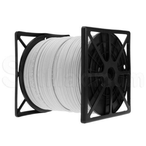 RG59 Siamese Cable 250ft 500ft 1000ft BULK 20AWG+18//2 Power CCTV Security Camera