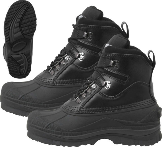 a46a22ad858 Black Thermoblock Extreme Cold 600 Gram Insulated Waterproof Winter Boots 8
