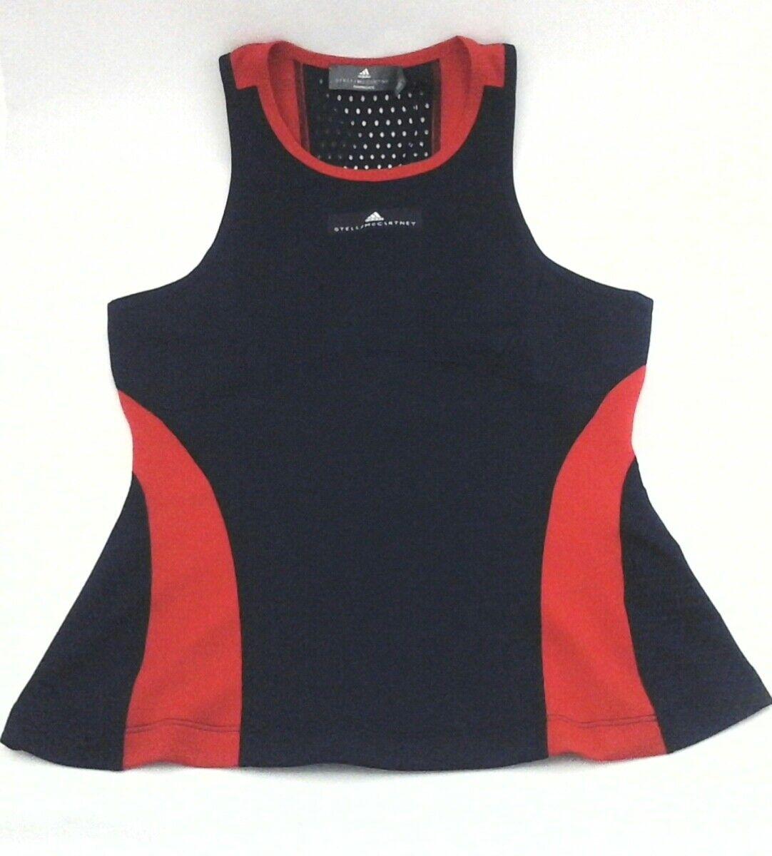 ADIDAS Stella McCartney Tennis Tank Q4 Barricade bluee Red CY1919 Women's  70 New