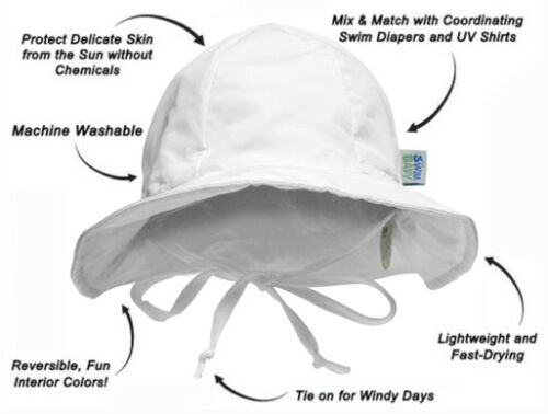 86883 My Swim Baby Sun Hat for Boys or Girls Ages 6 Months to 3 Years
