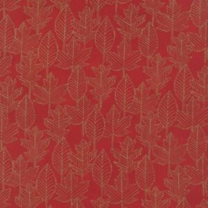 Moda-Welcome-Fall-Berry-Red-100-Cotton-Quilting-Fabric-44-034-Wide-SBY-Deb-Strain