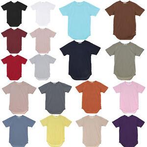 77621615 EPTM. Men's OG Short Sleeve Scallop Hem Long T Shirt | eBay