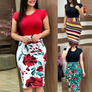 Women-Ladies-Summer-Boho-Short-Maxi-Dress-Cocktail-Evening-Party-Beach-Sundress