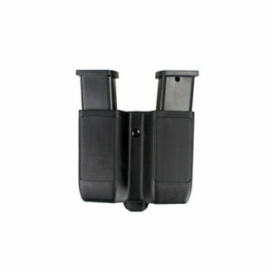 Quick-Draw-Double-Magazine-Mag-Pouch-Case-Stack-Duty-Belt-Matte-for-Glock-M92