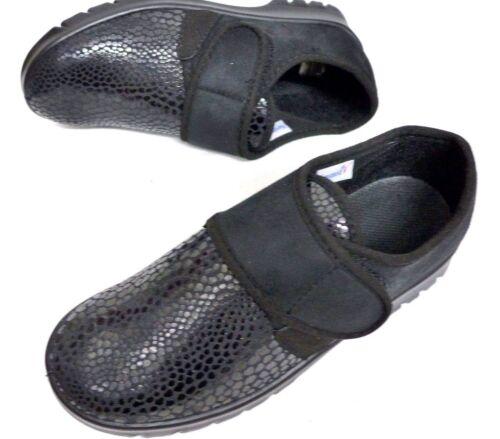 Damen Komfort Schuhe schwarz Größe 36 37 38 39 40 41 Florett Stretch Weite H
