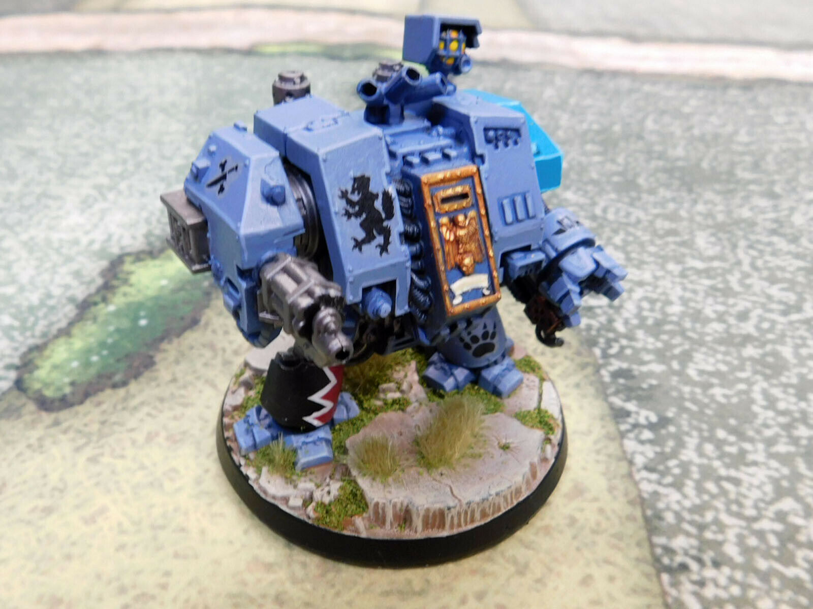 1 x Well Painted Warhammer 40K Space Wolves Dreadnought
