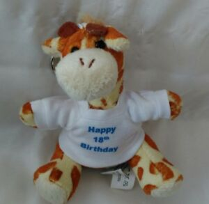 Personalised-18th-Birthday-Giraffe-keyring