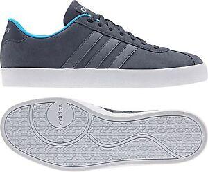 Details zu adidas neo Herren Sneaker VLCOURT VULC graublau (AW3927)