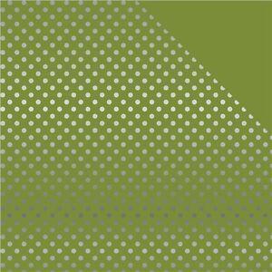 Echo Park Paper Echo Park Double-Sided Foiled Dot & Stripe Cardstock - 437849