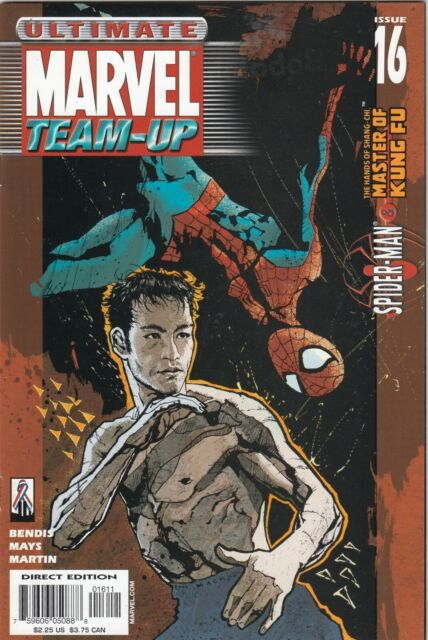 ULTIMATE MARVEL TEAM-UP #16  SPIDERMAN AND SHANG-CHI MASTER OF KUNG-FU