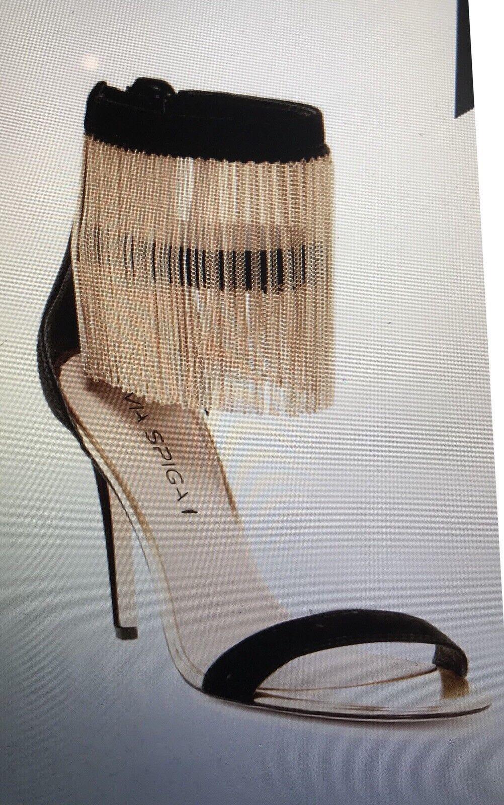 Via Spiga Tolsa  Chain Fringe Heels  presa di marca