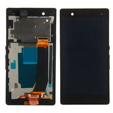 New LCD Touch Screen Digitizer w/Bezel for Sony Xperia Z L36H C6603 C6602 USA