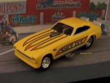 DRAG RACING FORD PINTO DRAG FUNNY CAR 1/64 SCALE COLLECTIBLE MODEL - DIORAMA