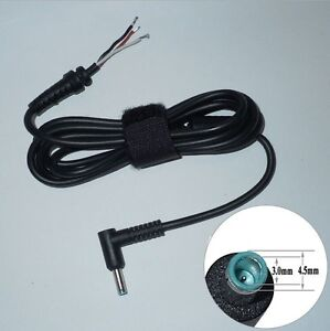 dc cable blue connector with pin for hp laptop. Black Bedroom Furniture Sets. Home Design Ideas