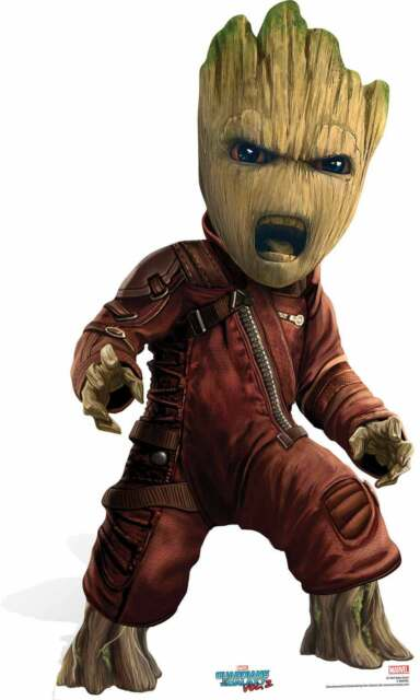Baby Groot Guardians Of The Galaxy Vol. 2 Cardboard Cutout / Standee / Standup