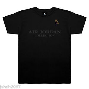 5d445547450b2 Details about NIKE AIR JORDAN X OVO COLLECTION T SHIRT BLACK WHITE ALL SIZE  S M L XL XXL NEW