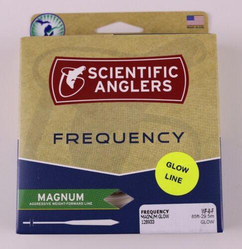 Scientific Anglers Fréquence Magnum Glow Fly Ligne WF8F Gratuit Livraison rapide 128933