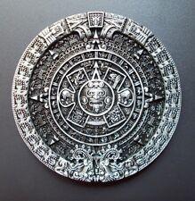 Gürtelschnalle Belt Buckle Azteken Kalender