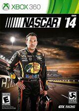 NASCAR '14 rare XBOX 360 Game RACING Complete vg