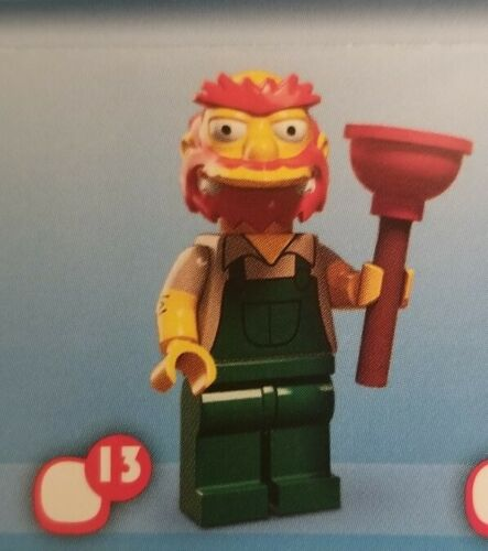 Lego Simpsons Minifigures Series 2 Groundskeeper Willie